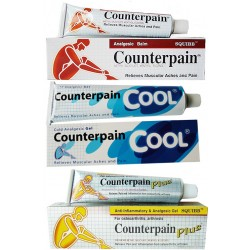 Counterpain - Special Offere 3er Pack - Hot - Cool - Plus