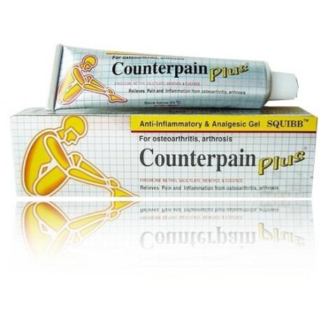 Counterpain Plus Salbe 50 Gramm Gelb mit Kräuter